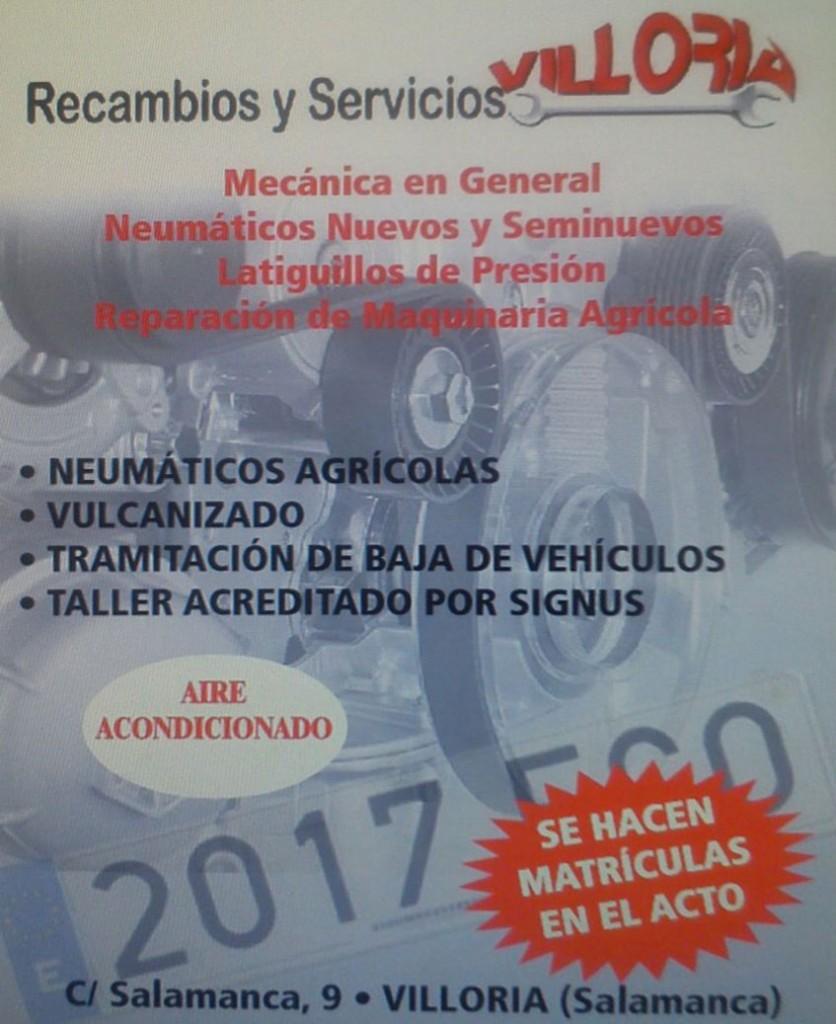 Mecánica Recambios y Servicios Villoria